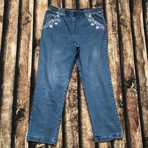🎀3/$30 Vintage Country Collection Blue HR Jeans